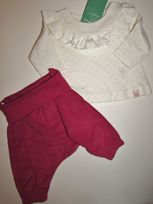 H & M 2 pc Rose set size LP/SN