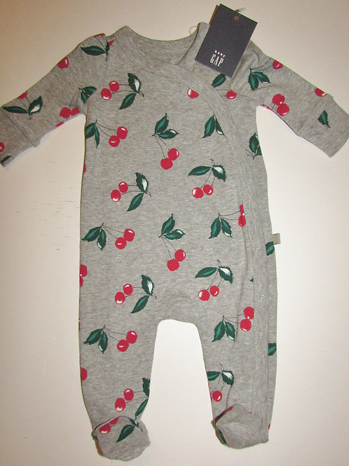Baby Gap gray/cherry size SN