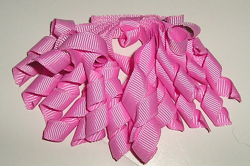 Faded Glory barrette/ribbons pink