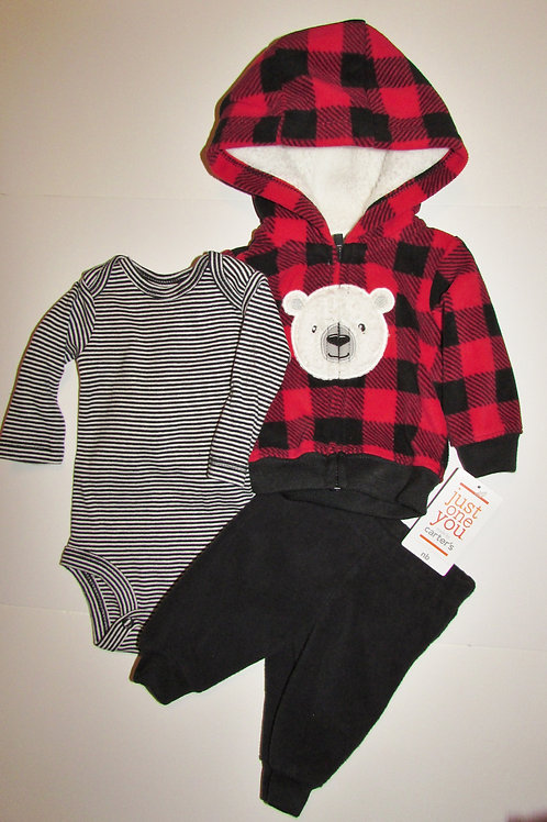 Just One You red/black bear size N