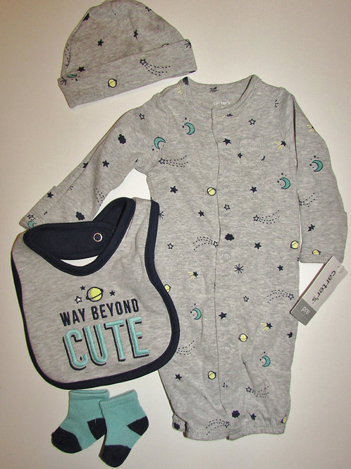 Carters 4 pc Space set size P
