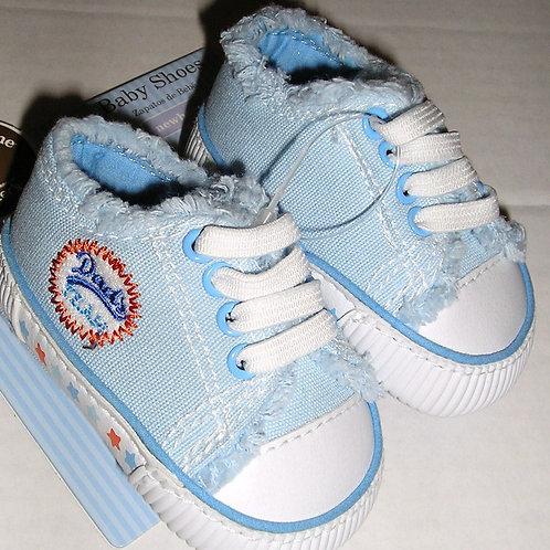 Child of Mine soft sneakers blue/team size 0