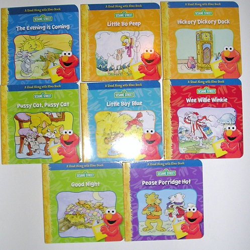 Sesame St set of books Elmo