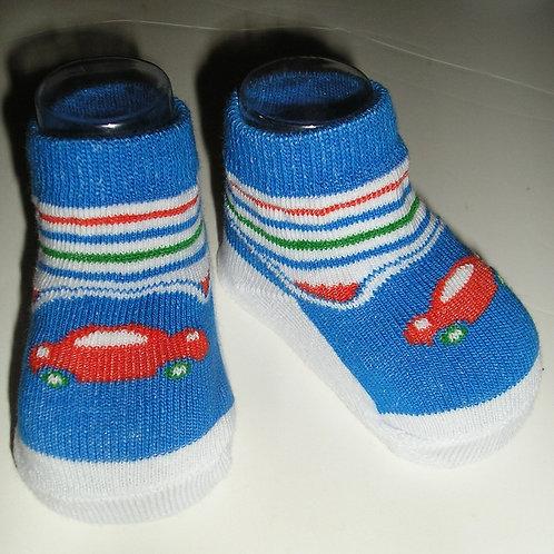 Little Me socks vehicle choose size 0-6 mos