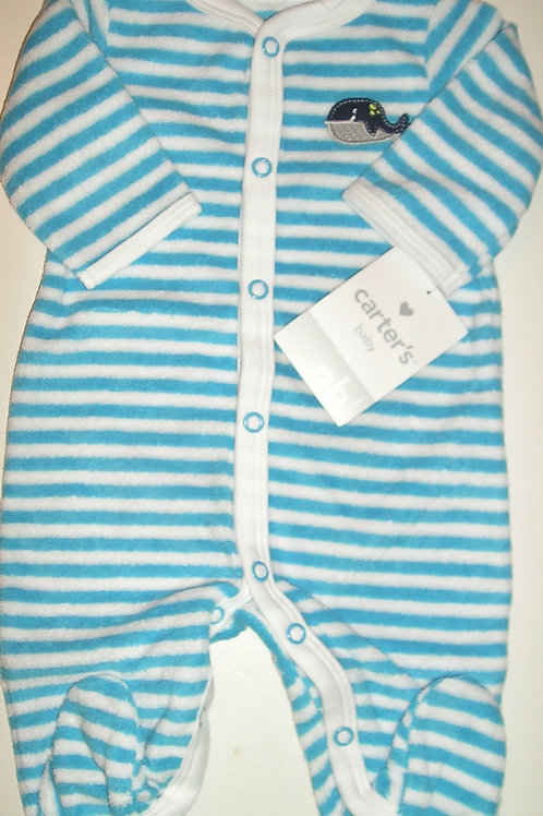Carters blue/striped size N