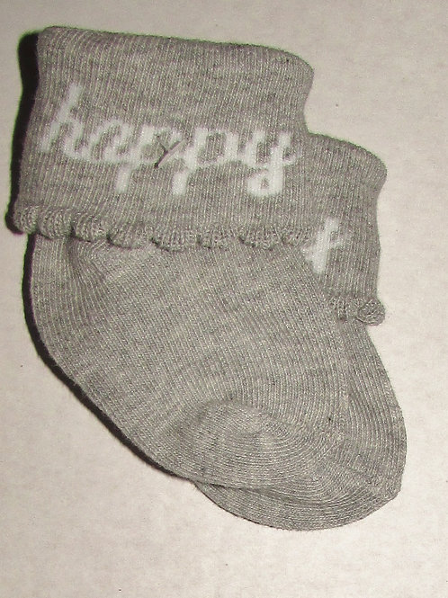Child of Mine socks gray size N