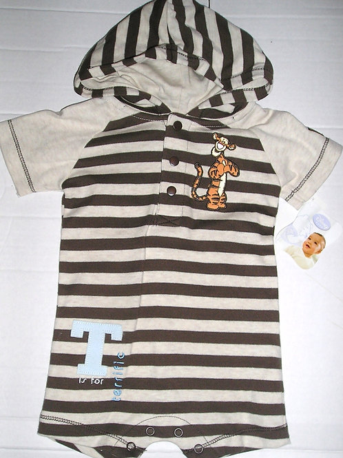 Disney coverall tan Tigger size 0-3