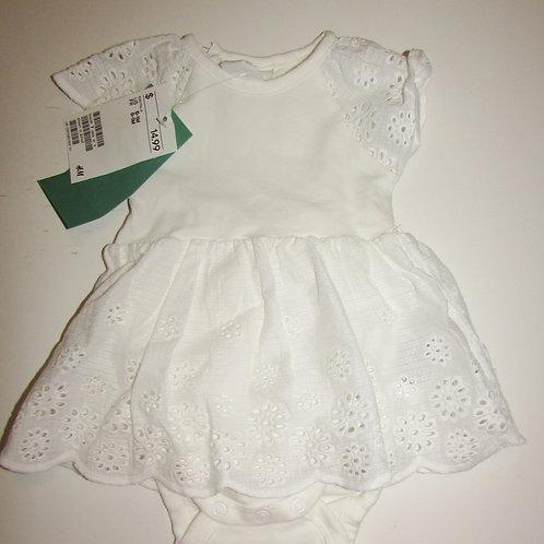 H & M dress white size SN