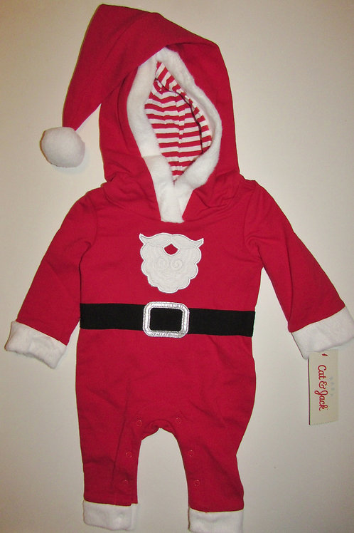 Cat and Jack coverall red/Santa size N