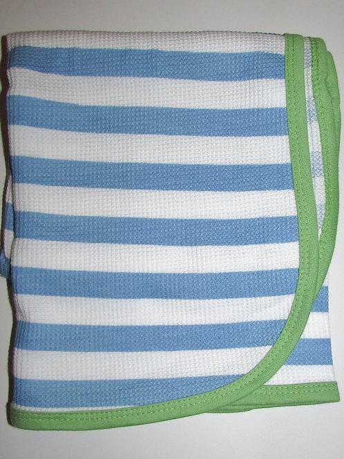 Gerber thermal blanket blue stripe