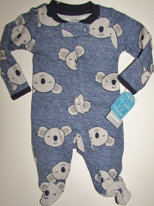 Carters sleeper blue size P
