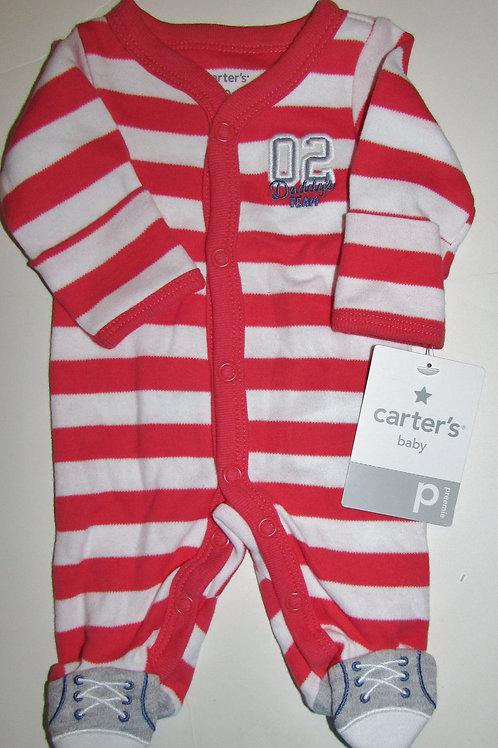 Carters Baseball sleeper size P
