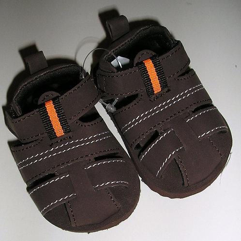 Osh Kosh soft sandals brown size 0