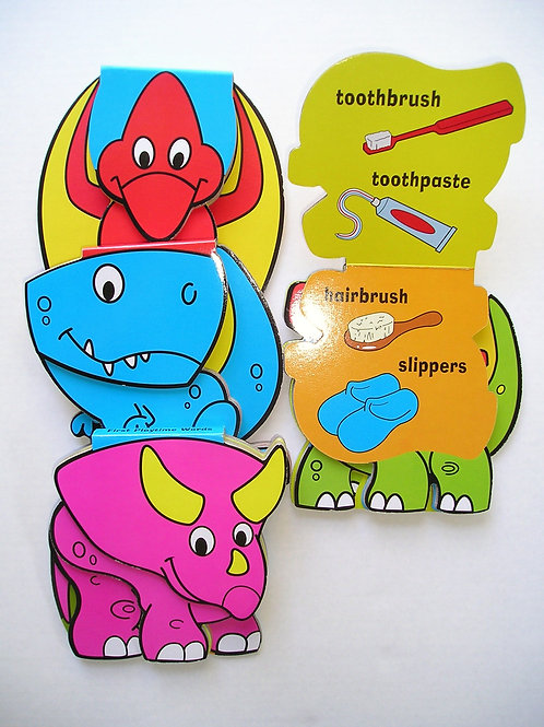 Dino 1st words set of 4 books