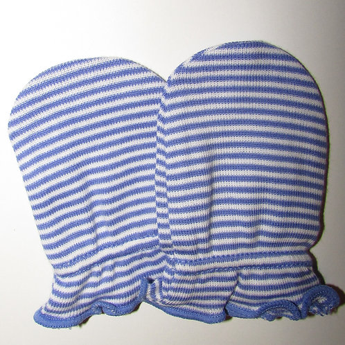 Carters mitts periwinkle size N