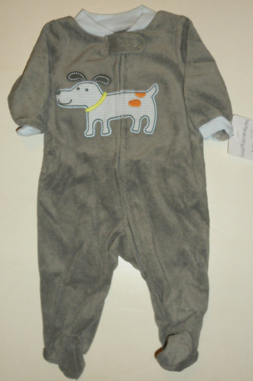 Carters gray/dog size N