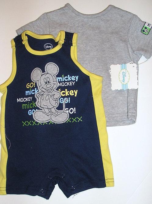 Disney Mickey navy size 0-3 mo