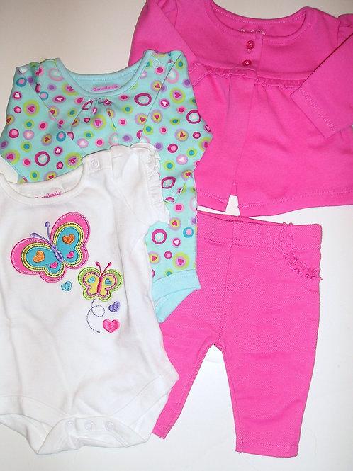 Garanimals 4 pc choose color size N