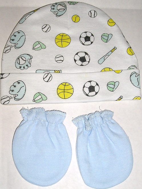 Baby King cap/mitts sport size N