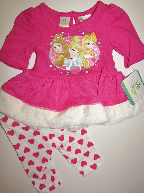 Disney pink/white size N