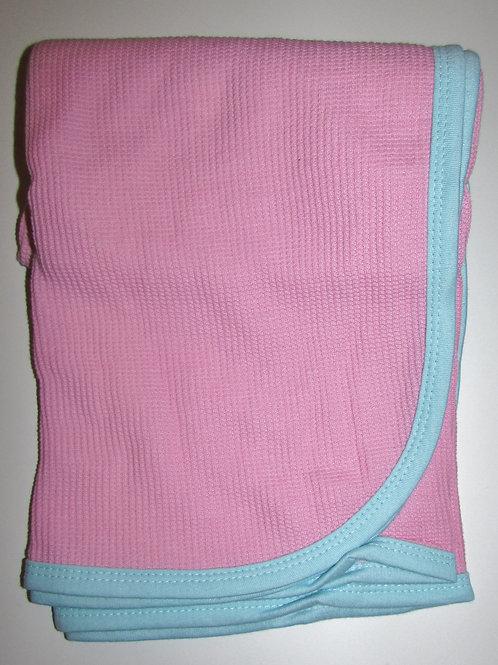 Gerber blanket pink/aqua