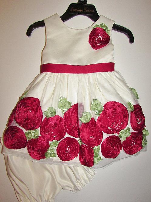 Princess dress size 12 mo