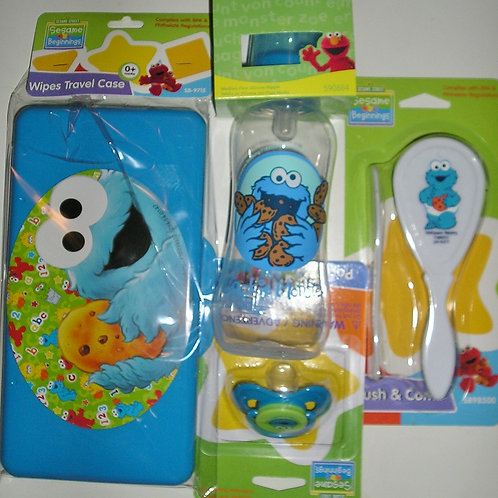 Sesame St gift set choose style