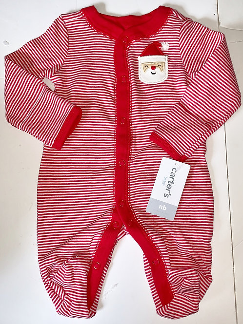 Carters Santa sleeper size N