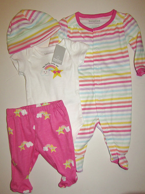 Baby Place rainbows size SN