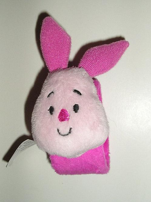 Disney Piglet slap wristlet pink