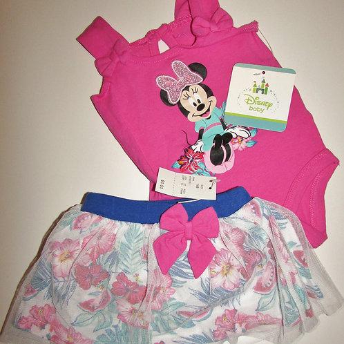 Disney floral Minnie size N