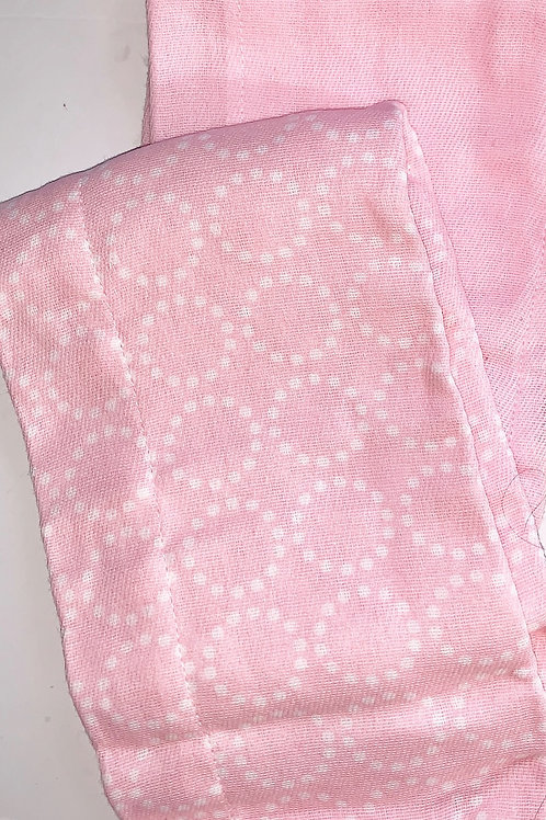 Gerber 2 pc diaper/burp cloth pink