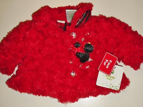 Disney red/fur Minnie size N