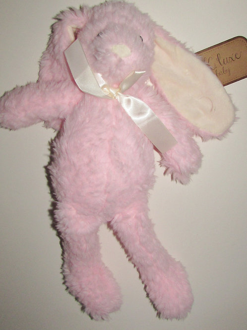 K Luxe Baby plush pink bunny