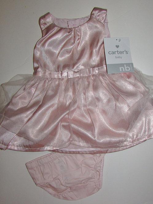 Carters dress set coral size N