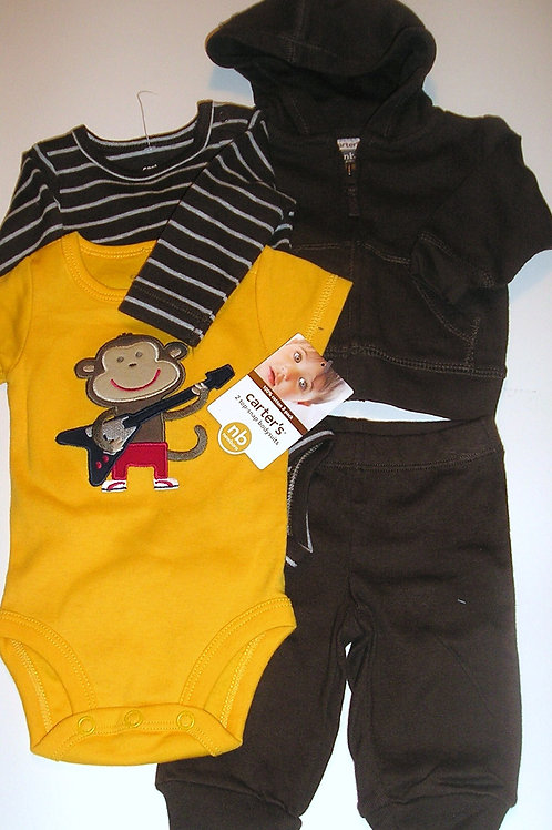 Carters brown/yellow size N