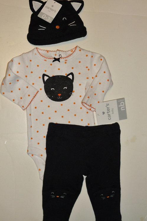 Carters black/orange size N