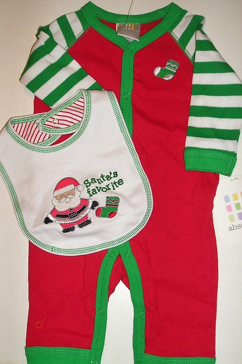 Absorbia set red/white size 0-3 mos