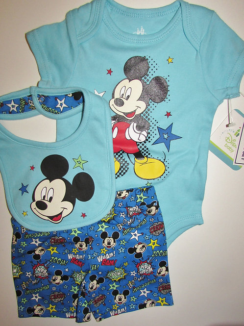 Disney blue Mickey size 3-6 mo