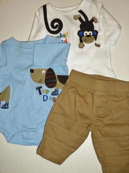 Garanimals blue/tan size N