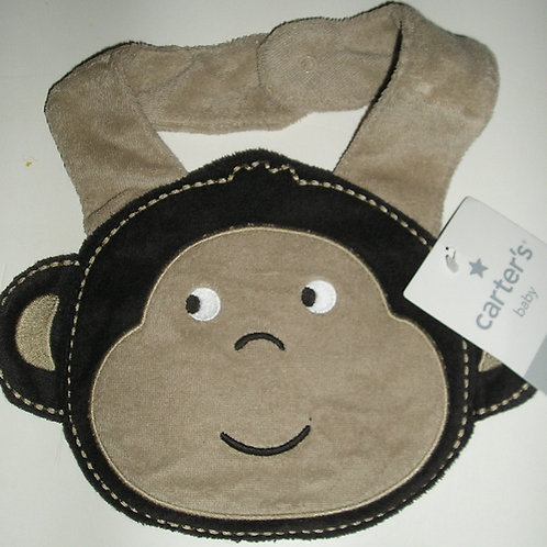 Carters bib monkey