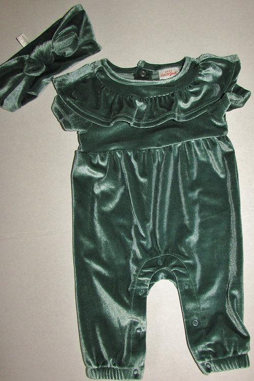 Cat & Jack 2 pc set green size N
