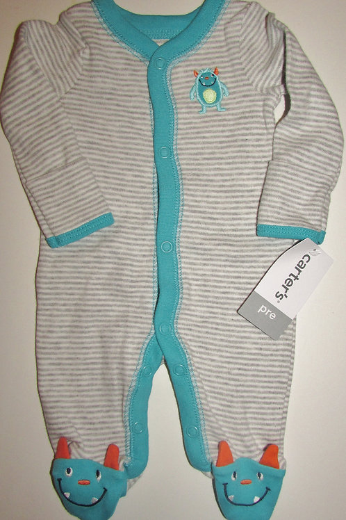Carters Monster sleeper size P