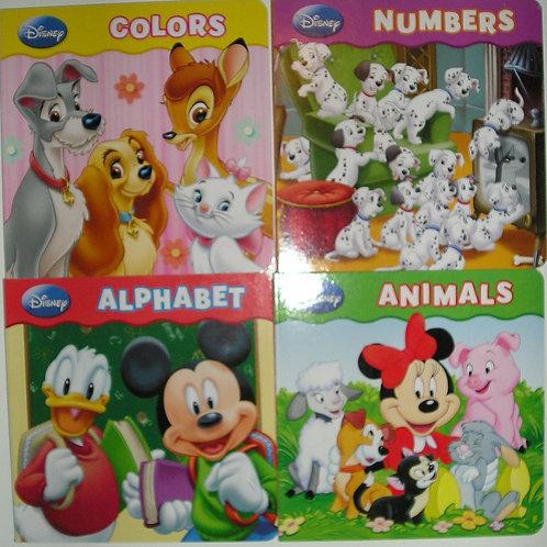 Disney set of 4 books