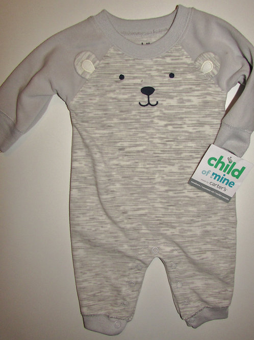 Child of Mine gray/bear size N