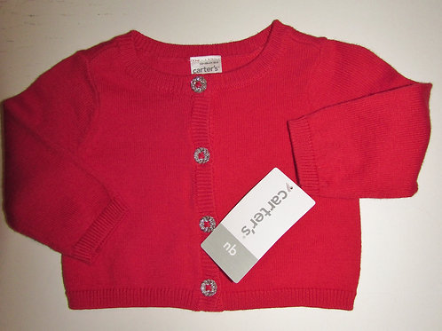 Carters red/silver size N