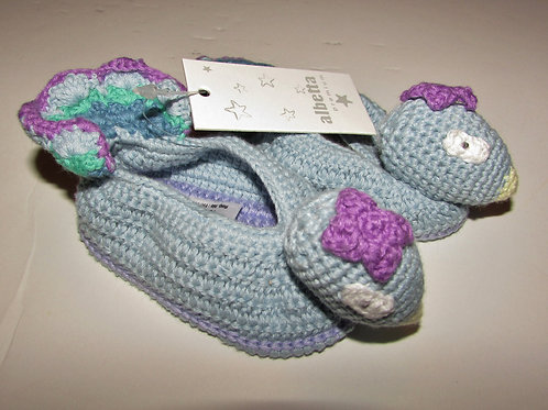 Alberta slippers bird size 0-3 mo