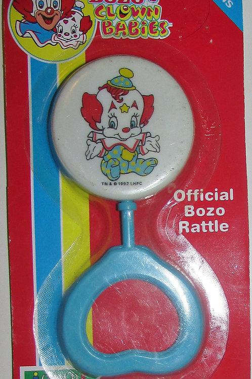 Baby Bozo vintage style rattle