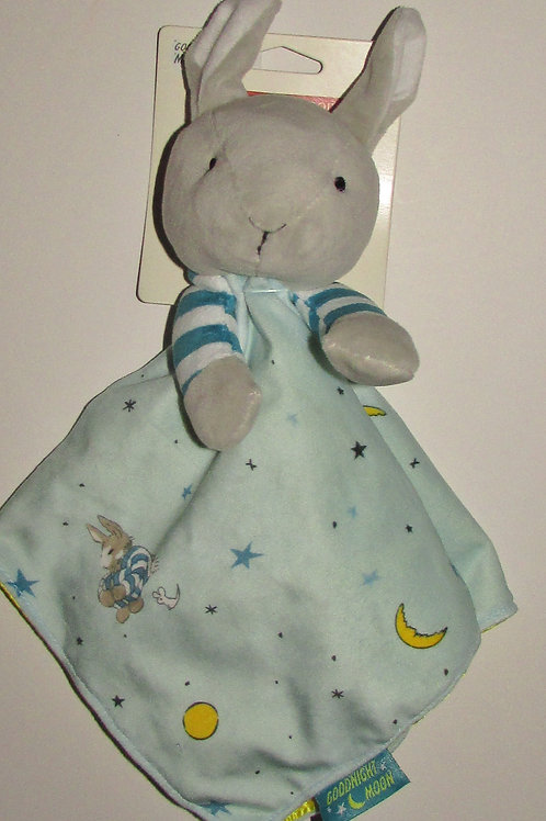 Goodnight Moon plush bunny security blanki