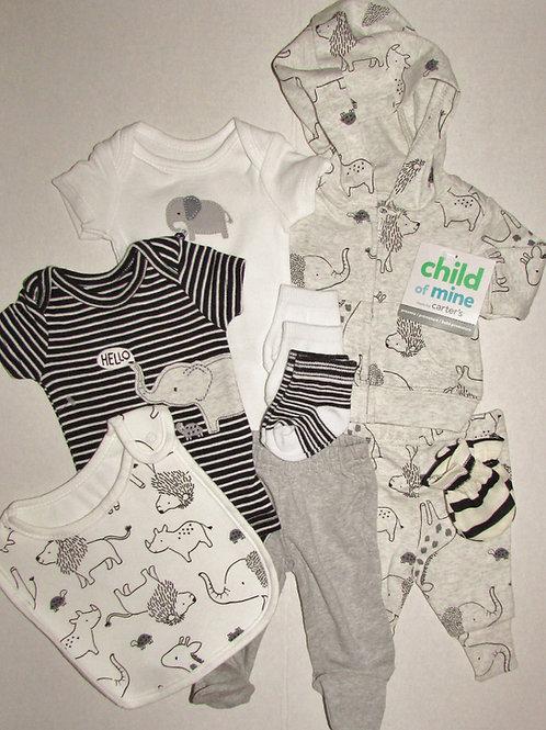 Child of Mine 9 pc set black/white size P